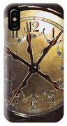 The Crucifixion Of Time IPhone Case
