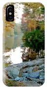 The Dam At Peaks Of Otter IPhone Case