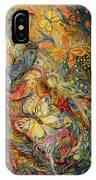The Dance Of Nature IPhone Case
