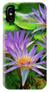 The Dance Of The Lillies IPhone Case