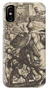 The Death Of Abimelech IPhone Case