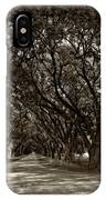 The Deep South Bw IPhone Case