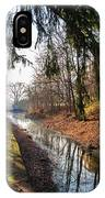 The Delaware Canal In New Hope Pa IPhone Case