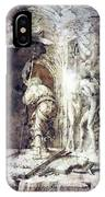 The Descent Into Hell 1468 IPhone Case