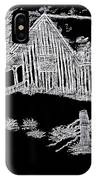 The Deserted Cabin At Night IPhone Case