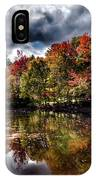 The Dock At The Boathouse IPhone Case