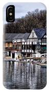The Docks At Boathouse Row - Philadelphia IPhone Case