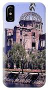 The Dome In Hiroshima IPhone Case