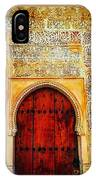 The Door To Alhambra IPhone Case