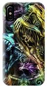 The Duel Of The Dragons  IPhone Case