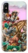 The Duke Of Monmouth At The Battle Of Sedgemoor IPhone Case