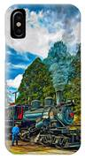 The Durbin Rocket - Paint IPhone Case