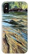 The East Dart River Dartmoor IPhone X Case