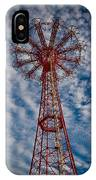 The Eiffel Tower Of Brooklyn IPhone Case