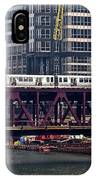 The El In Chicago IPhone Case
