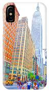 The Empire State Building 3 IPhone Case