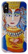 The Empressa  Of Hearts Angel Of Grace Beauty And Devotion IPhone Case