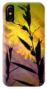 The End Of Summer IPhone Case