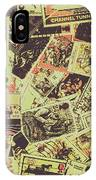 The English Postage Scene IPhone X Case