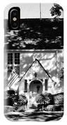 The English Tutor House IPhone Case