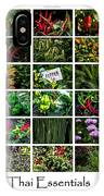 The Essential Thai Garden II IPhone Case