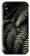 The Exotic Dark Jungle IPhone Case