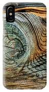 The Eye In The Wood IPhone Case