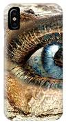 The Eye Of Nature 1 IPhone Case