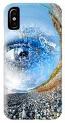 The Eye Of Nature 3 IPhone Case