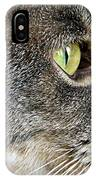 The Eye Of The Tiger  IPhone Case