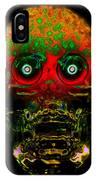 The Face Of Man IPhone Case