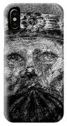 The Face Of War IPhone Case