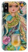 The Fairies Of Wine Series - Chardonnay IPhone X Case