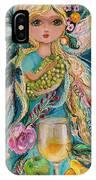 The Fairies Of Wine Series - Chardonnay IPhone Case