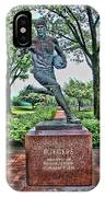 The First Football Game Monument IPhone Case