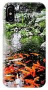 The Fish Pond At Thailand IPhone Case