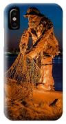 The Fisherman After Nightfall IPhone Case
