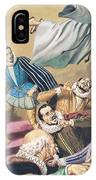 The Flight Of Father Dominic IPhone Case