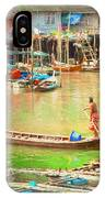 The Floating Village IPhone Case