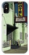 The Flores Motel IPhone Case