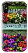 The Flower Field IPhone Case