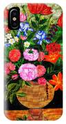 The Flower Pot IPhone X Case