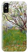 The Flowering Orchard IPhone Case