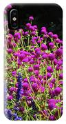 The Flowers And The Bees IPhone Case
