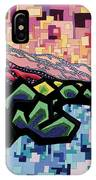 The Fluctuation Of Matter And Spirit IPhone Case