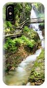 The Flume Gorge Lincoln New Hampshire IPhone Case
