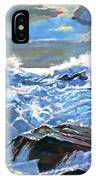 The Foaming Sea IPhone Case