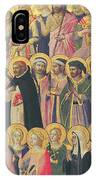 The Forerunners Of Christ With Saints And Martyrs IPhone Case