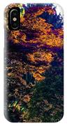 The Forest At Dusk IPhone Case