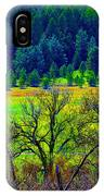 The Forest Echoes With Laughter 2 IPhone Case
